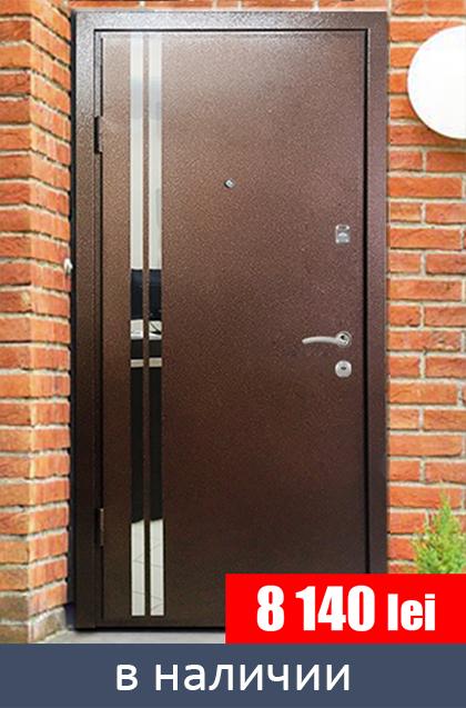 сколько стоит заказать и поставить железную дверь