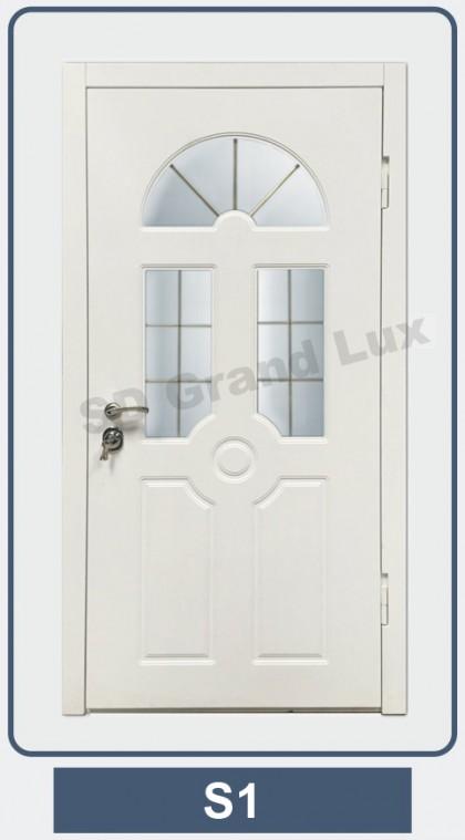 входные распашные двери на дачу сергиев посад