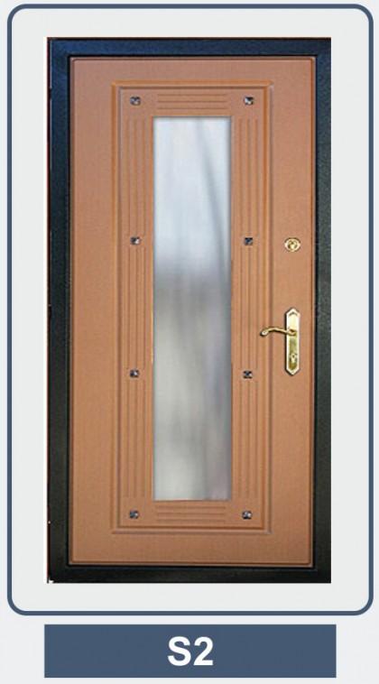 металлическая дверь 3 класса защиты со стеклопакетом